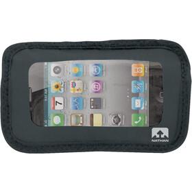 Nathan Weather-Resistant Phone Pocket - negro/transparente